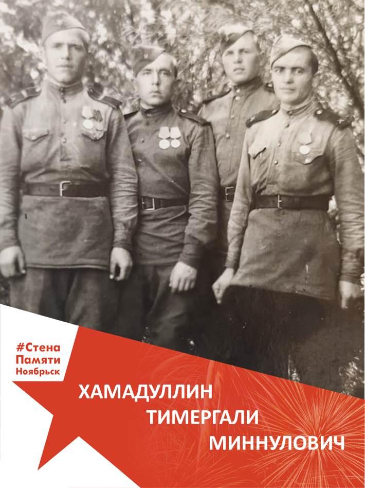 Хамадуллин Тимергали Миннулович