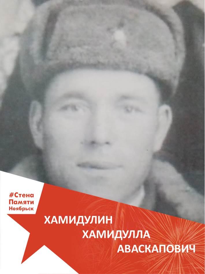 Хамидуллин Хамидулла Аваскапович