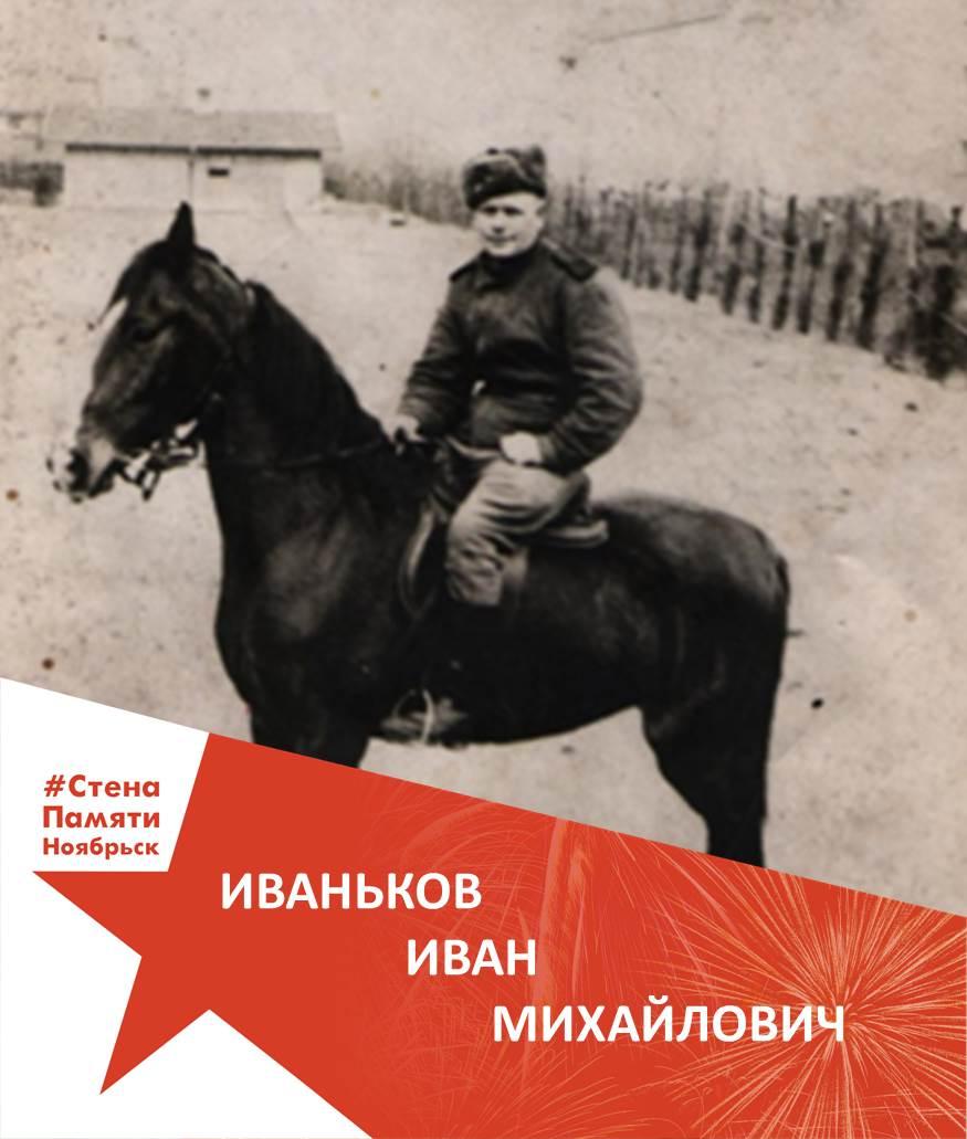 Иваньков Иван Михайлович