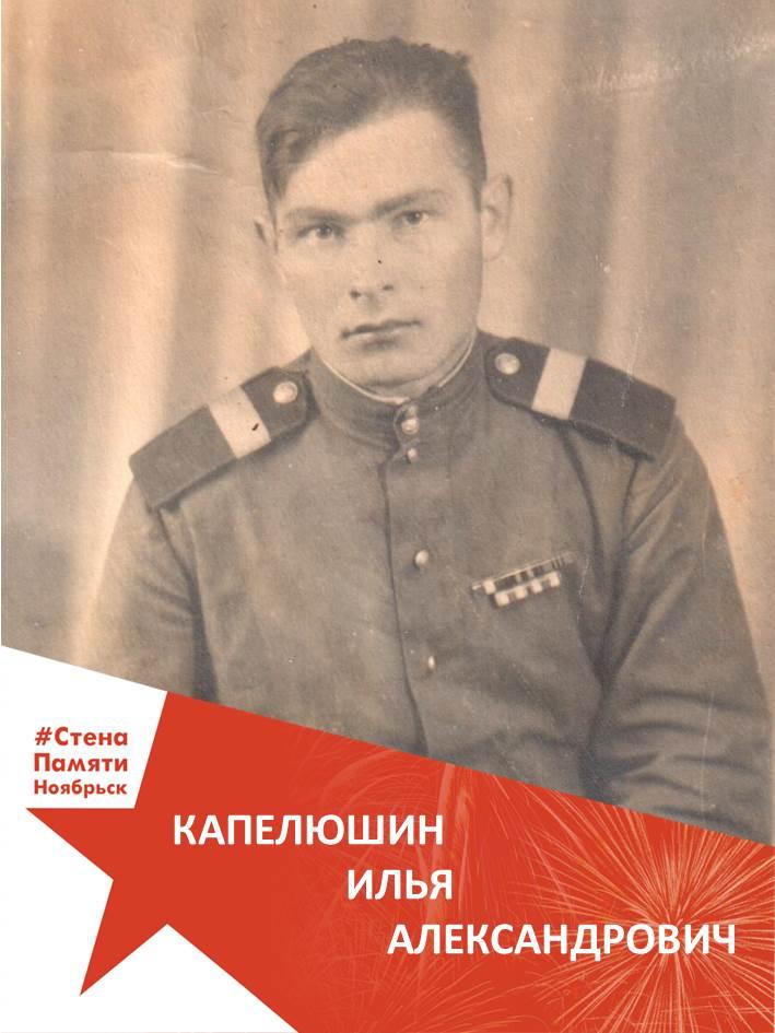 Капелюшин Илья Александрович