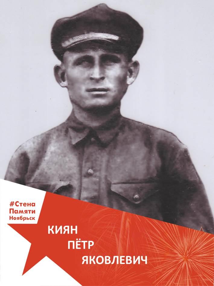 Киян Пётр Яковлевич
