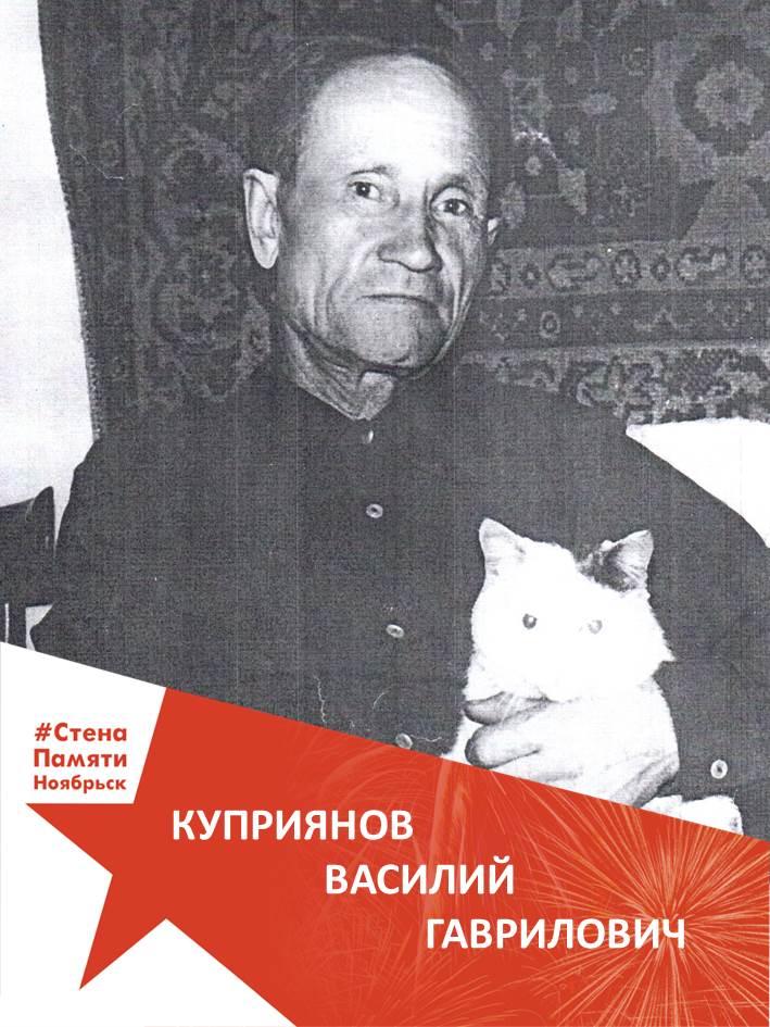 Куприянов Василий Гаврилович