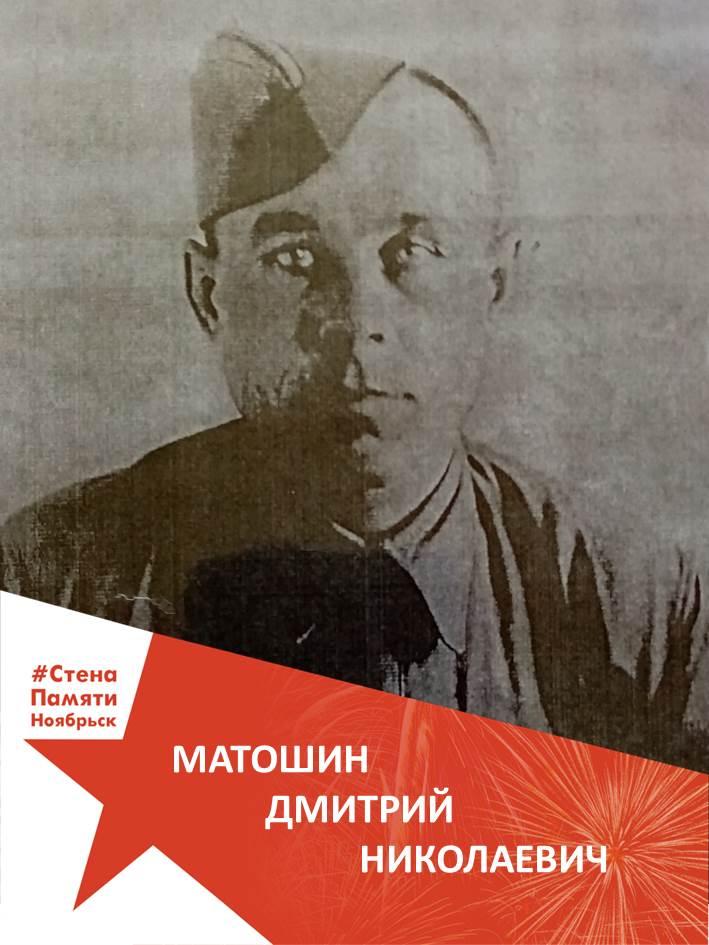 Матошин Дмитрий Николаевич