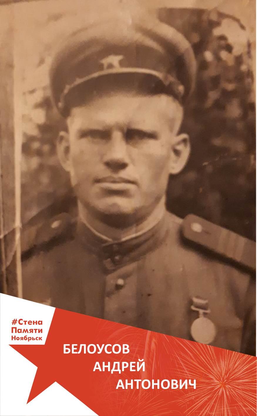 Белоусов Андрей Антонович