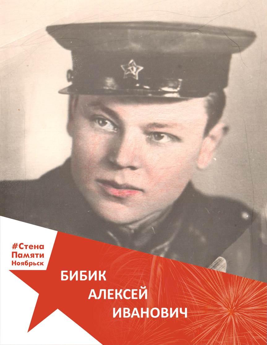 Бибик Алексей Иванович
