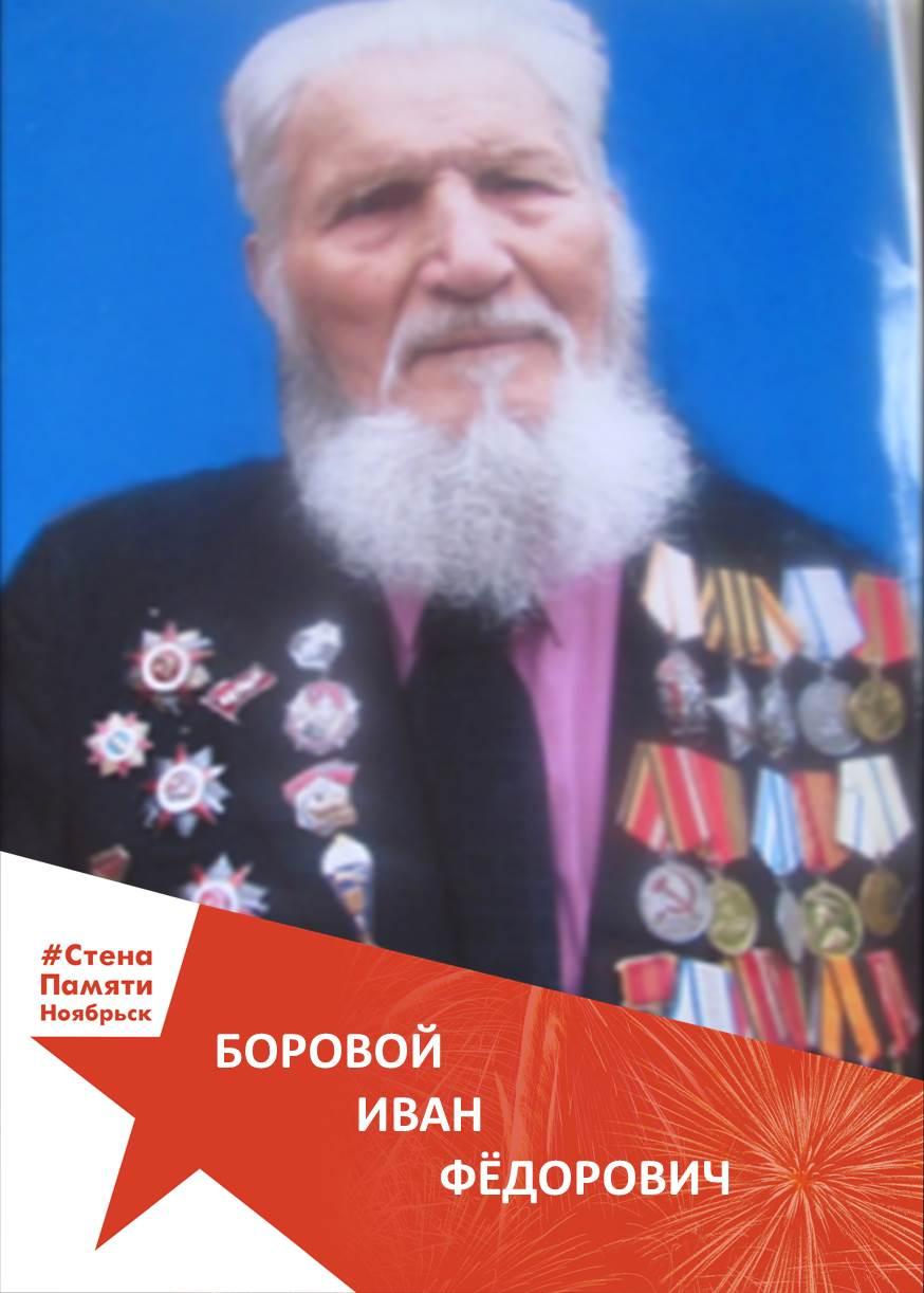 Боровой Иван Фёдорович