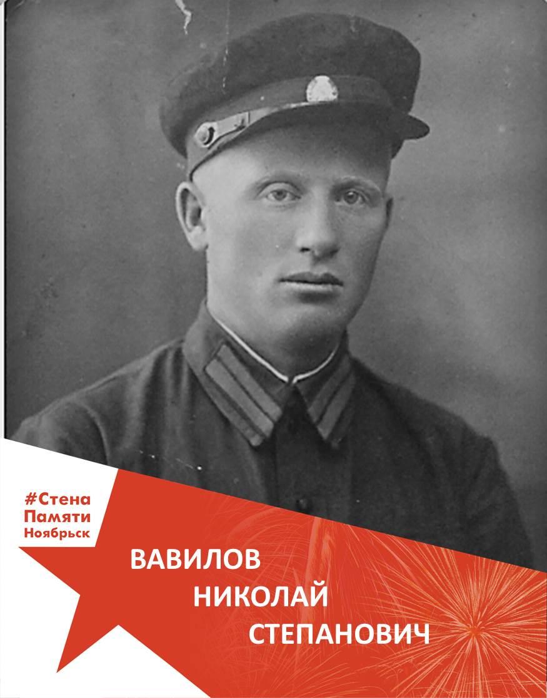 Вавилов Николай Степанович