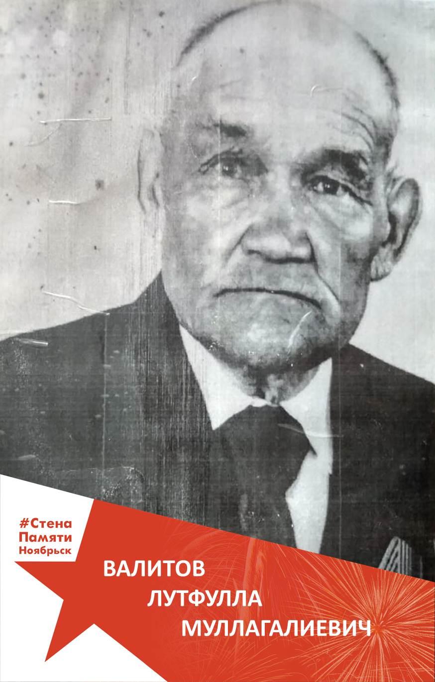 Валитов Лутфулла Муллагалиевич