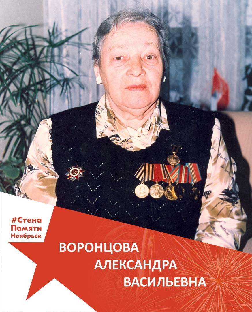 Воронцова Александра Васильевна
