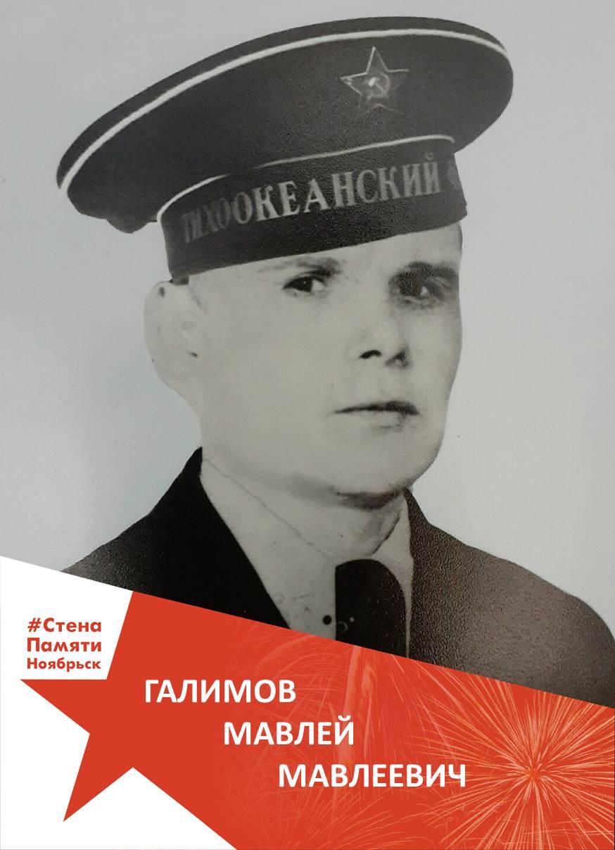 Галимов Мавлей Мавлеевич