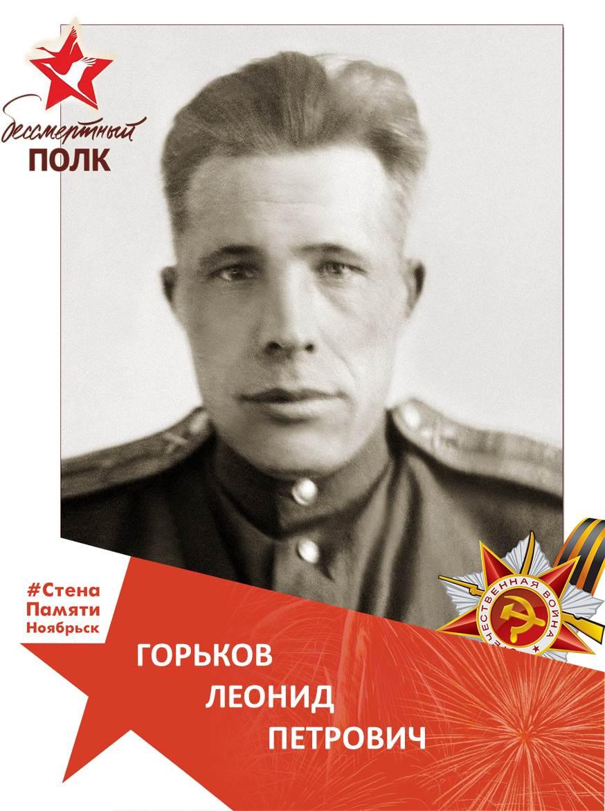 Горьков Леонид Петрович