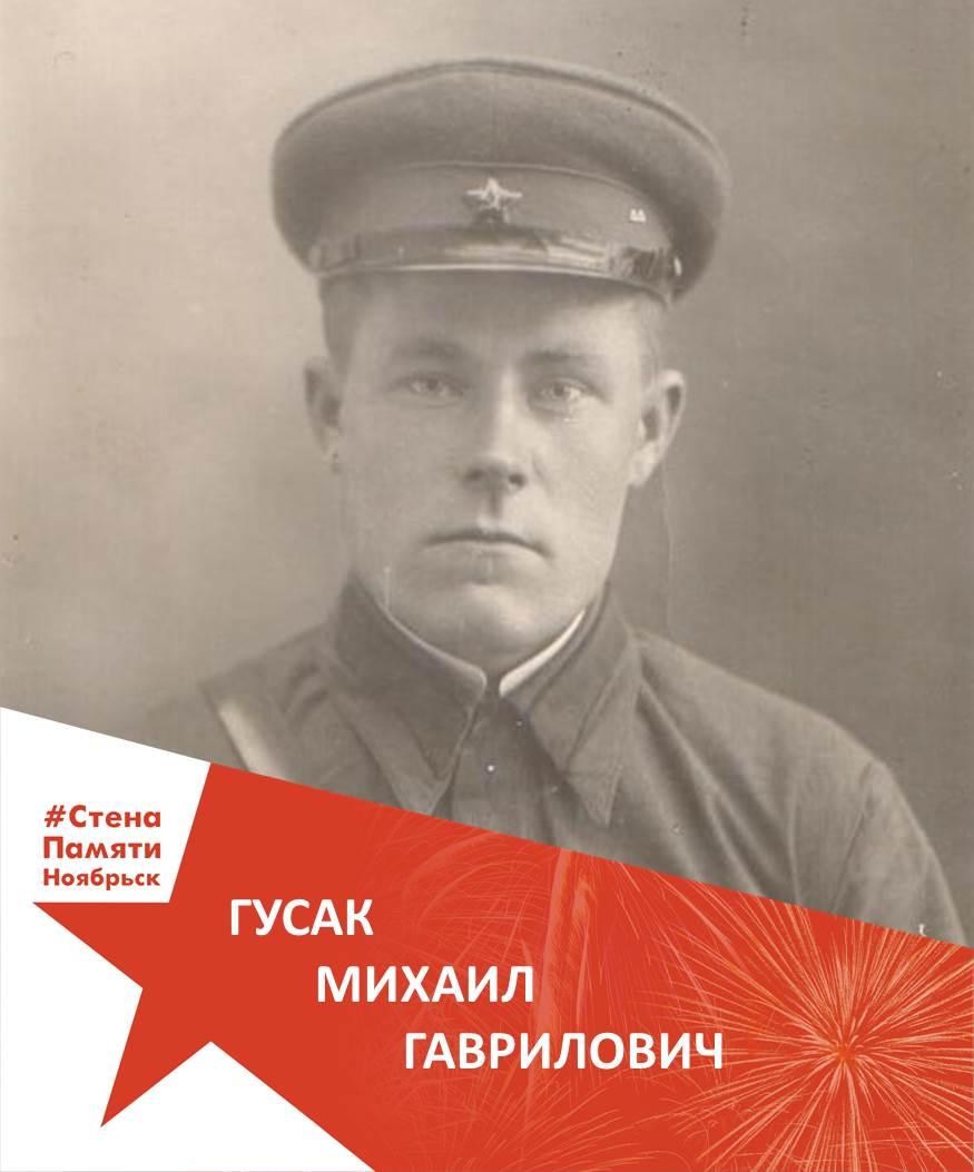 Гусак Михаил Гаврилович