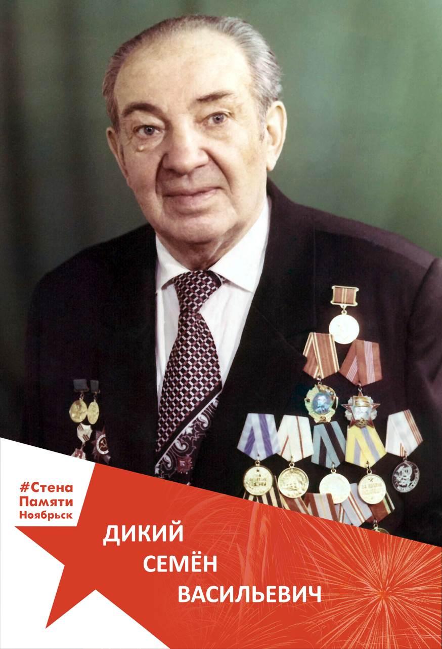 Дикий Семён Васильевич