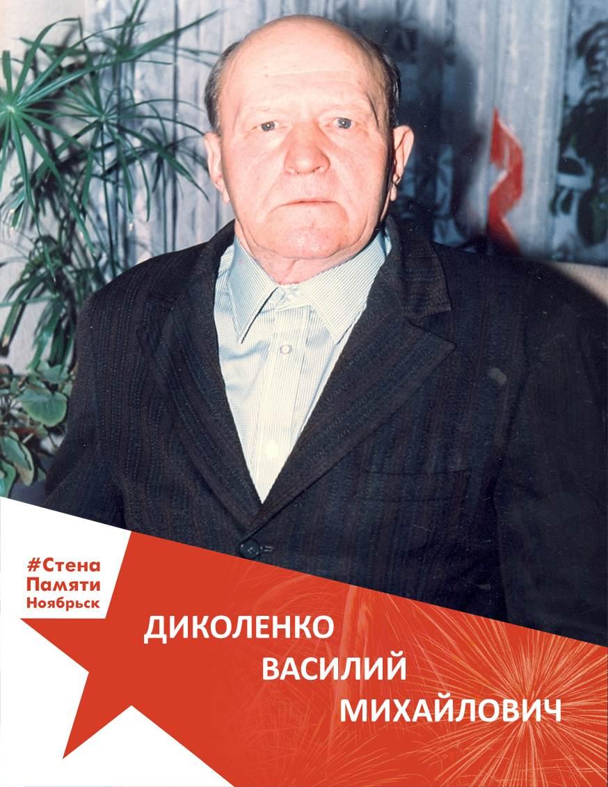Диколенко Василий Михайлович