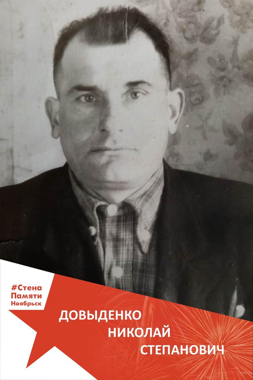 Довыденко Николай Степанович