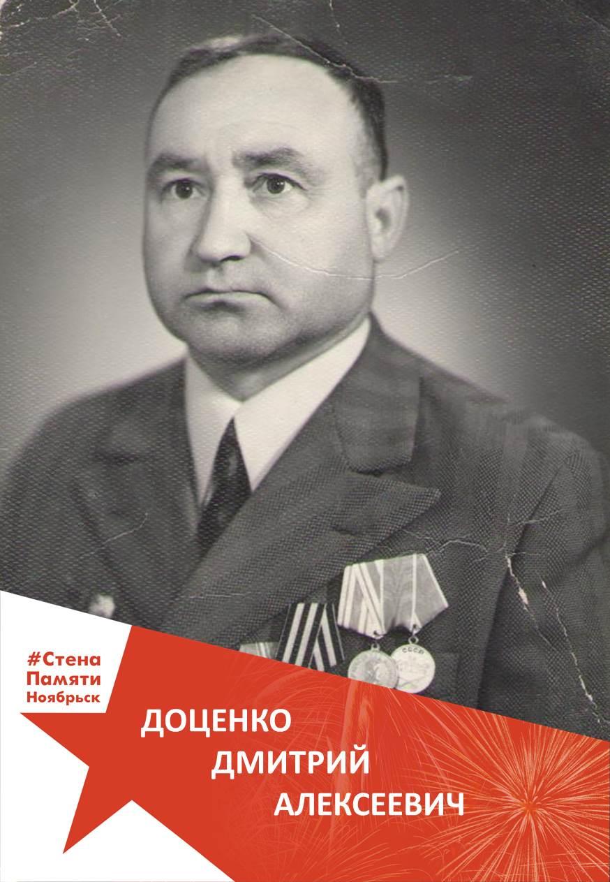 Доценко Дмитрий Алексеевич