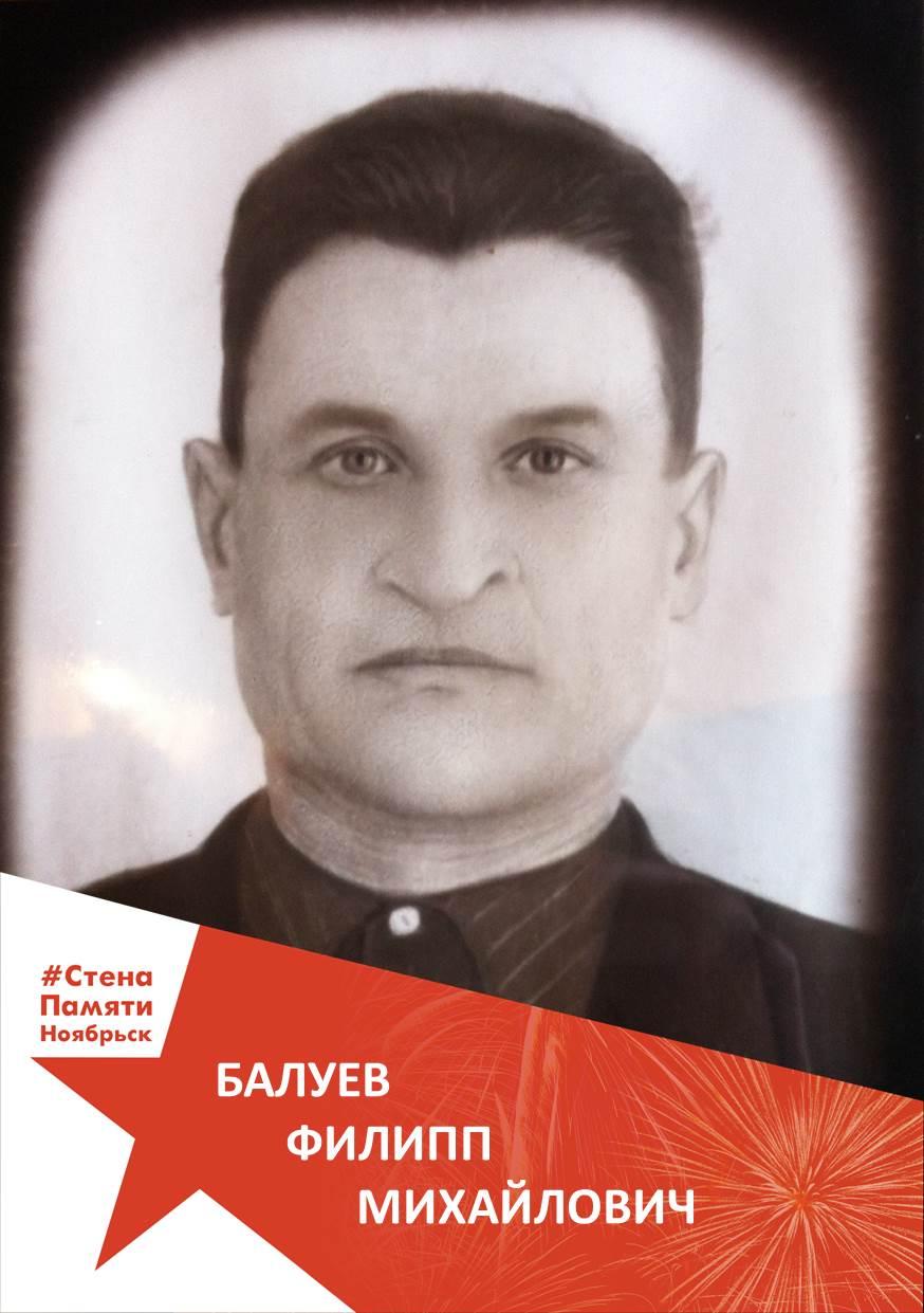 Балуев Филипп Михайлович