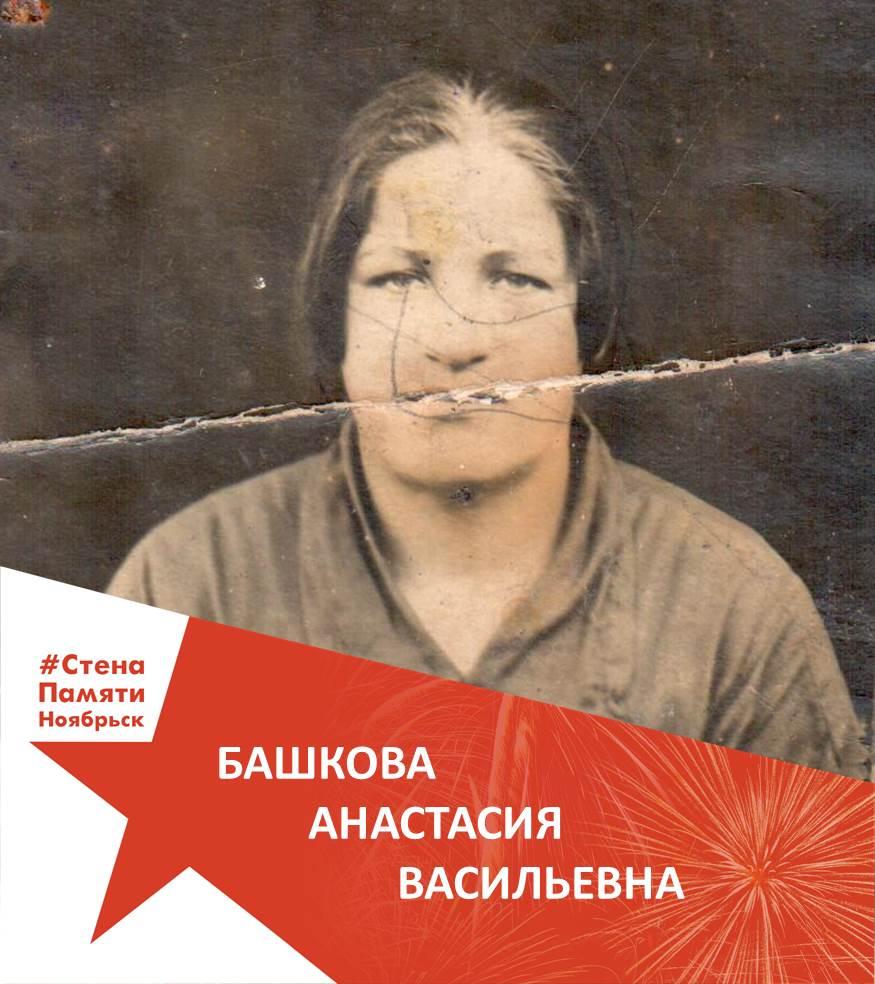 Башкова Анастасия Васильевна