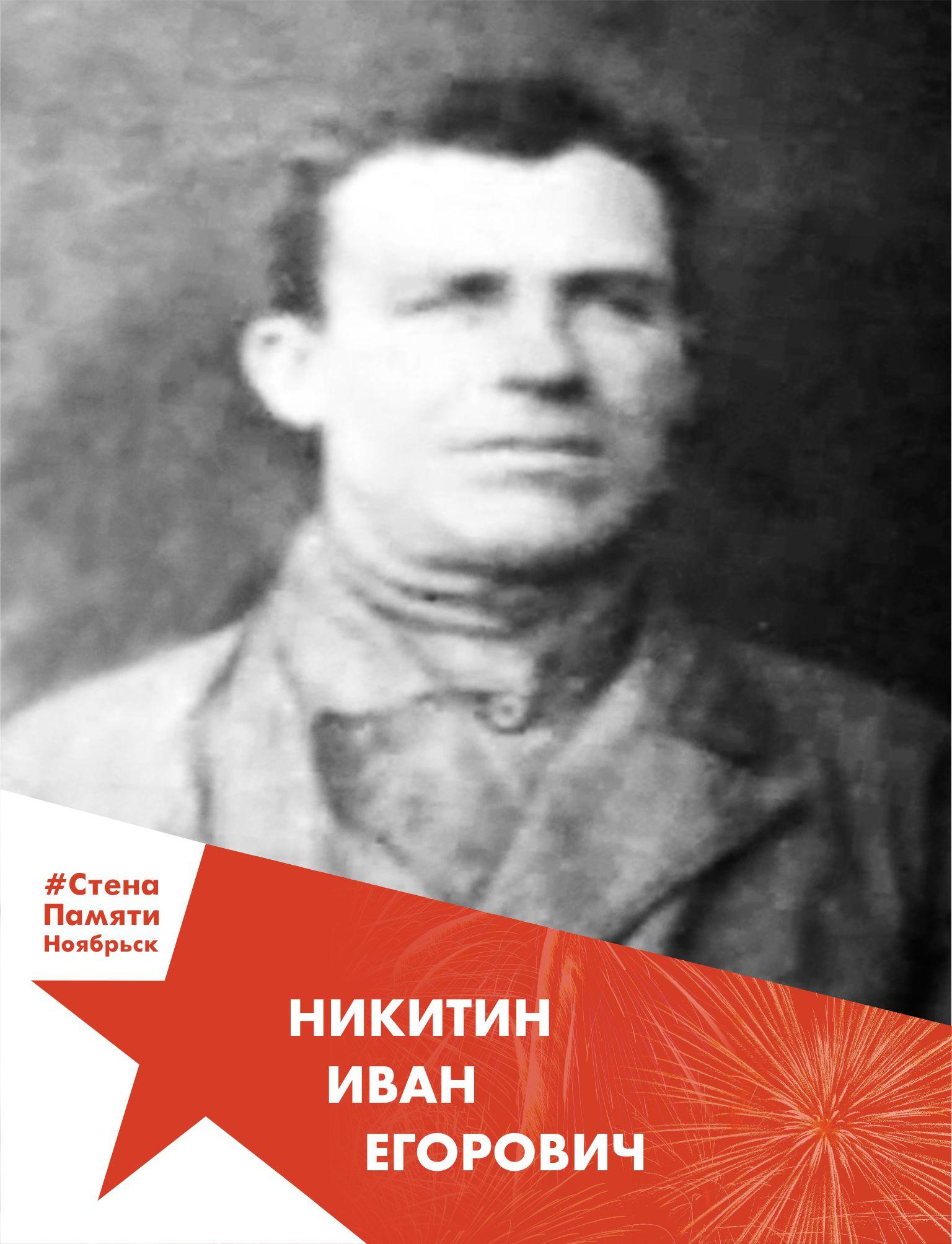 Никитин Иван Егорович
