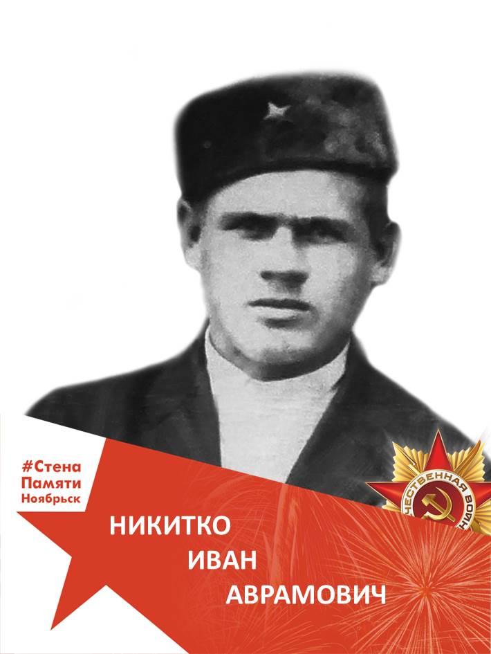 Никитко Иван Аврамович