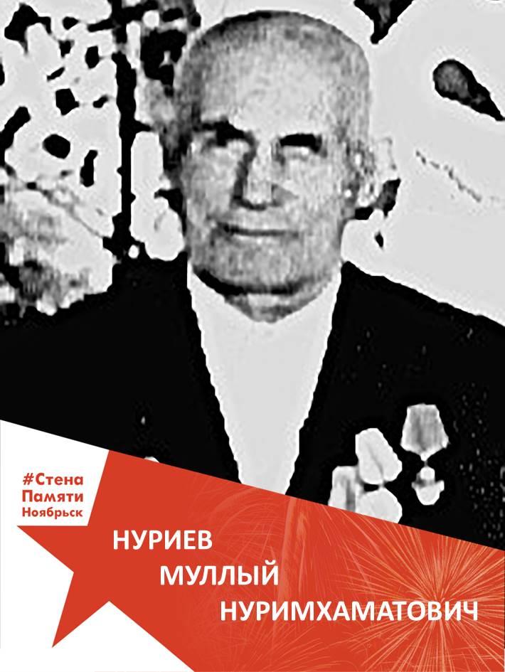 Нуриев Муллый Нуримхаматович