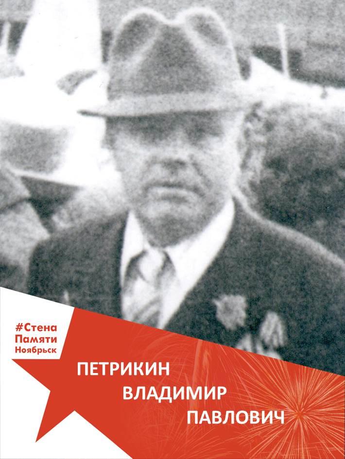 Петрикин Владимир Павлович