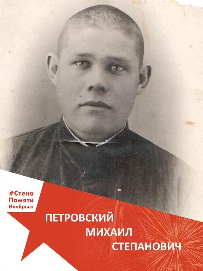 Петровский Михаил Степанович