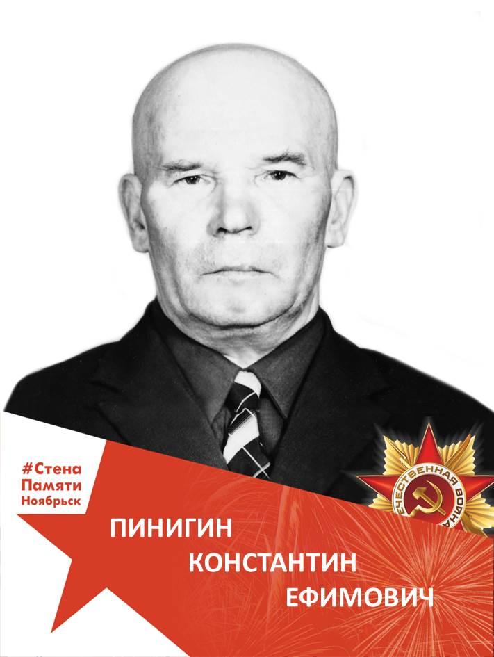 Пинигин Константин Ефимович