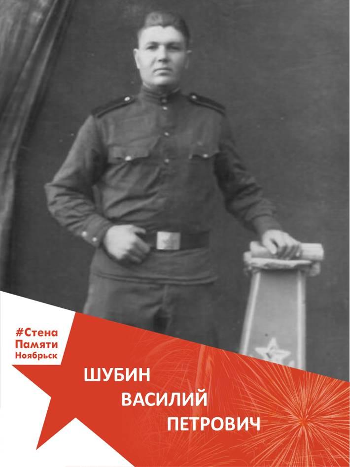 Шубин Василий Петрович